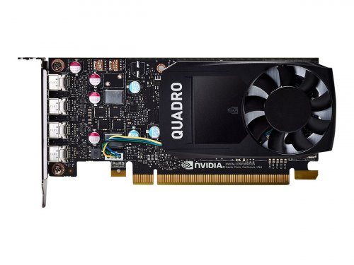 NVIDIA Quadro P600 DVI - Grafikkarten - Quadro P600 - 2 GB GDDR5 - PCIe 3.0 x16 Low Profile - 4 x Mini DisplayPort
