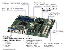 Supermicro X10SAE Intel C226 LGA 1150 (Socket H3) ATX server/workstation  motherboard ( MBD-X10SAE-O )