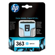 HP 363 Light Cyan Original Ink Cartridge ( C8774EE )