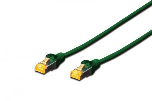 Digitus DK-1644-A-0025/G networking cable Green 0.25 m Cat6a S/FTP (S-STP) ( DK-1644-A-0025/G )