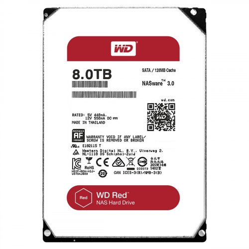 WD Red NAS Hard Drive WD80EFZX - Festplatte - 8 TB - intern - 3.5