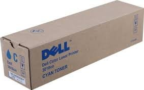 Dell 593-10155 - TH204 - CT200860 - Toner cyan - für Color Laser Printer 3010cn