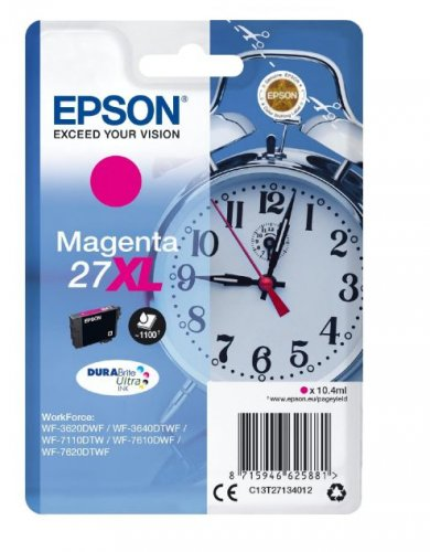 Epson C13T27134012 10.4ml 1100pages Magenta ink cartridge ( C13T27134012 )