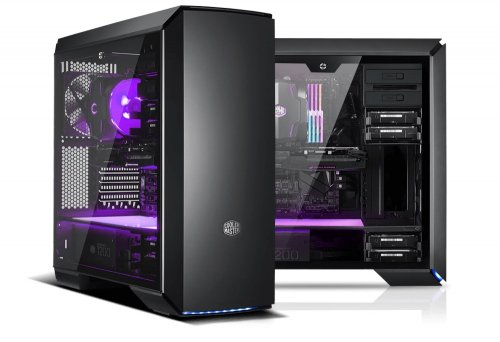 Gaming PC | Piranha i5K - Intel i5 8600K 3,6GHz, GeForce RTX 2080 8GB, 500GB M.2 SSD, 2TB HDD, 16GB
