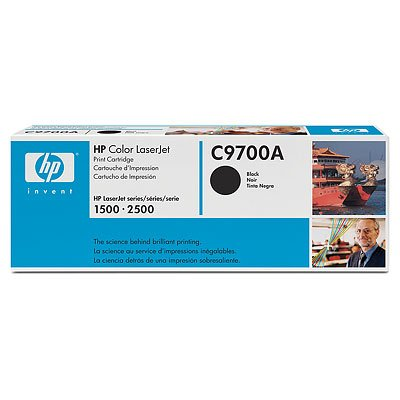 Hewlett-Packard (Original) C9700A Toner black