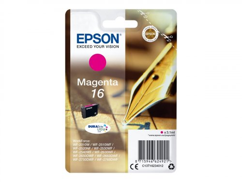 Epson Pen and crossword Singlepack Magenta 16 DURABrite Ultra Ink ( C13T16234012 )