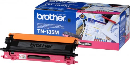 Brother TN-135M - Toner magenta - für DCP-9040 9042 9045 HL-4040 4050 4070 MFC-9420 9440 9450 9840