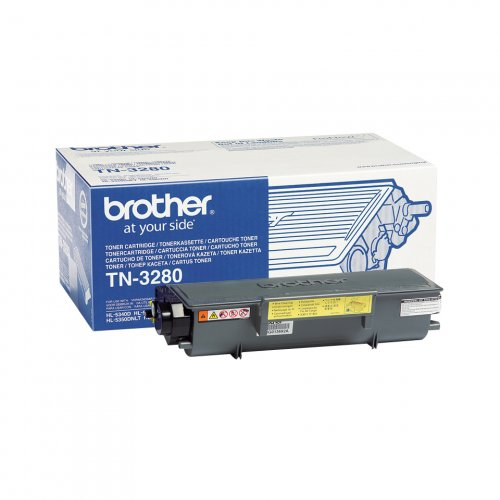 Brother TN-3280 - Toner schwarz - für Brother DCP-8070 8085 HL-5340 5350 5370 5380 MFC-8370 8380 8880 8890