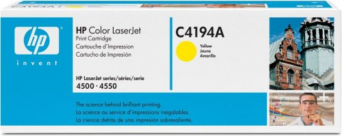 Hewlett-Packard (Original) C4194A Toner yellow