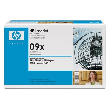 Hewlett-Packard (Original) HP 09X black ( C3909X )