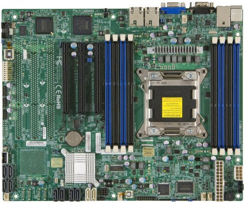 SUPERMICRO Mainboard X9SRi-F