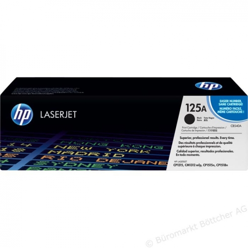 Hewlett-Packard HP 125A black ( CB540A )
