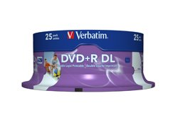 Verbatim DVD R 8.5GB 8X DOUBLE LAYER ( 43667 )