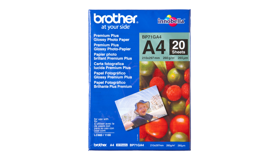 Brother DIN A4 Glanzpapier ( BP-71GA4 )
