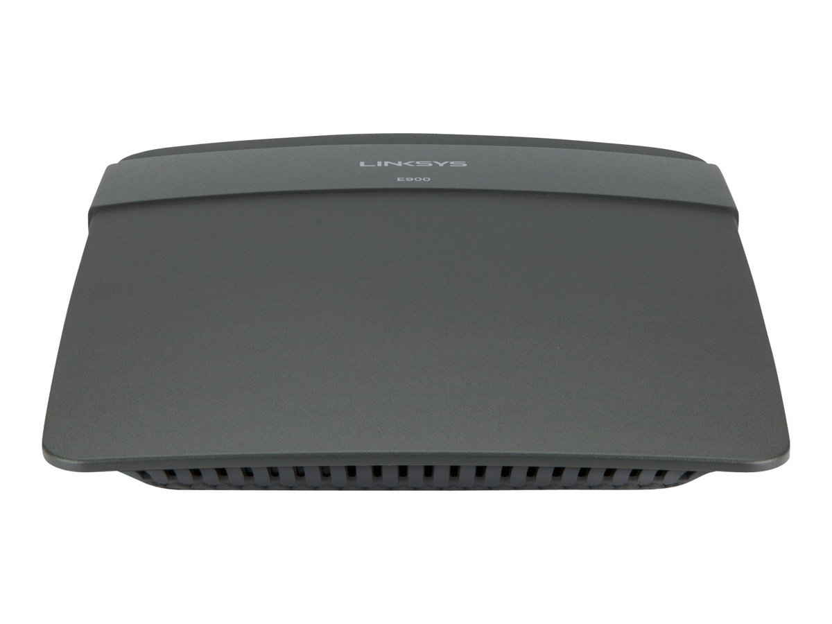 Linksys E900 - Wireless Router - 4-Port-Switch - 802.11b/g/n - 2,4 GHz