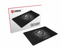 MSI AGILITY GD20 Pro Gaming Mousepad 320mm x 220mm, Pro Gamer ultra-smooth textile surface, Iconic Dragon design, Anti-slip and shock-absorbing rubber base ( AGILITY GD20 )