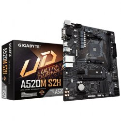 Gigabyte A520M S2H motherboard Socket AM4 micro ATX ( A520M S2H )