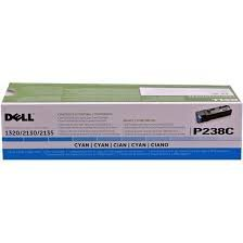Dell 593-10317 - P238C - CT201194 - Toner cyan - für Color Laser Printer 2130cn