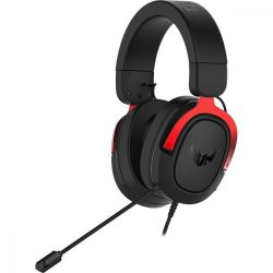 ASUS TUF Gaming H3 Headset Head-band 3.5 mm connector Black, Red ( 90YH02AR-B1UA00 )