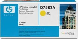 HP 503A Yellow Original LaserJet Toner Cartridge ( Q7582A )