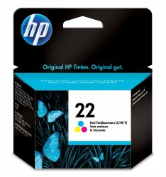 HP 22 1 pc(s)  Standard Yield Cyan, Magenta, Yellow ( C9352AE )