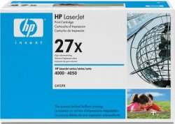 HP 27X Laser cartridge 10000pages Black ( C4127X )
