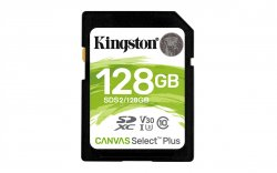 Kingston Technology Canvas Select Plus memory card 128 GB SDXC UHS-I Class 10 ( SDS2/128GB )