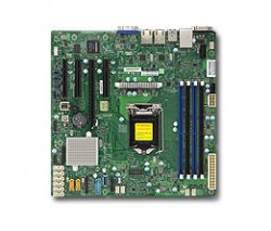 Supermicro X11SSM-F Intel C236 microATX server/workstation motherboard ( MBD-X11SSM-F-O )