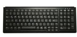 Active Key AK-7000 keyboard USB QWERTZ German Black ( AK-7000-U-B/GE )