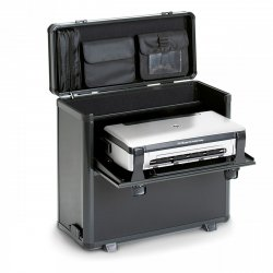Dicota DataBox XL Trolley HP OJ 200 Kompakter Drucker Trolley-Koffer Schwarz ( D31249 )