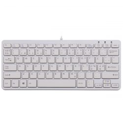 R-Go Tools R-Go Compact Keyboard, QWERTY (NORDIC), white, wired ( RGOECNDW )