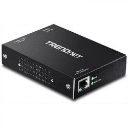Trendnet TPE-E100 Bridge & Repeater 800 Mbit/s Schwarz ( TPE-E100 )