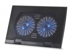 Conceptronic THANA Notebook Cooling Pad, Fits up to 17, 2-Fan ( THANA02B )