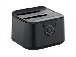 Conceptronic DDE02B storage drive docking station USB 3.2 Gen 1 (3.1 Gen 1) Type-B Black ( DDE02B )
