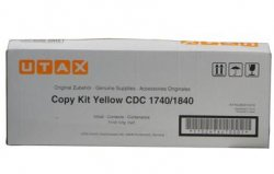 UTAX 654010016 18000pages Yellow laser toner & cartridge ( 654010016 )
