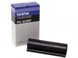 brother PC-102RF - Thermotransfer-Farbband schwarz - für MFC-1750 MFC-1850 MFC-1950; IntelliFAX 1250 1350 1450 1550