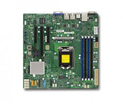Supermicro X11SSL-F Intel C232 LGA 1151 (Socket H4) microATX server/workstation motherboard ( MBD-X11SSL-F-O )