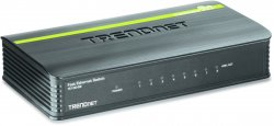 Trendnet 8-Port 10/100Mbps Switch Unmanaged ( TE100-S8 )