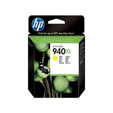 HP 940XL High Yield Yellow Original Ink Cartridge ( C4909AE )