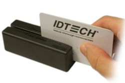 ID TECH MiniMag Duo magnetic card reader USB ( IDMB-354133B )