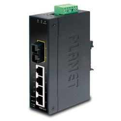 PLANET ISW-511 network switch Unmanaged L2 Fast Ethernet (10/100) Black ( ISW-511 )