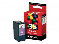 Lexmark Y35 High Yield Color Ink Cartridge cyan, magenta, yellow ink cartridge ( 18C0035E )