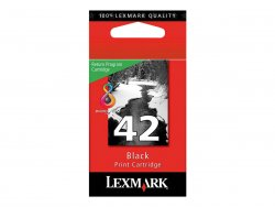 Lexmark Cartridge No. 42 - Schwarz - Original - Tintenpatrone LRP - für X4850, 4875, 4950, 4975, 4975ve, 6570, 6575, 7550, 7675, 9575; Z1520