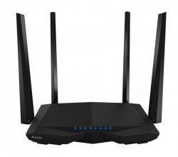 Tenda AC6 wireless router Fast Ethernet Dual-band (2.4 GHz / 5 GHz) Black ( AC6 )