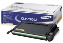 Samsung CLP-Y600A Laser cartridge 4000pages Yellow laser toner & cartridge ( CLP-Y600A )