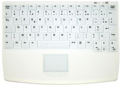 Active Key AK-4450-GFUVS-W/GE keyboard RF Wireless QWERTZ German White ( AK-4450-GFUVS-W/GE )