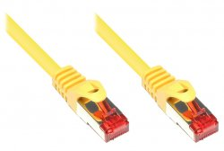 Alcasa 1m Cat6 S/FTP networking cable Yellow S/FTP (S-STP) ( 8060-010Y )