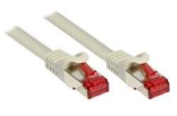 Alcasa 2m Cat6 S/FTP networking cable Grey S/FTP (S-STP) ( 8060-020 )