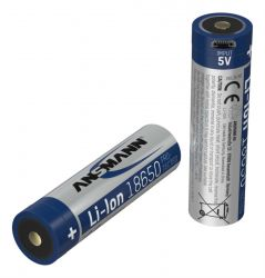 Ansmann 1307-0002 household battery Rechargeable battery 18650 Lithium-Ion (Li-Ion) ( 1307-0002 )