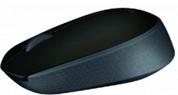Logitech M171 RF Wireless Optical 1000DPI Ambidextrous Black mice ( 910-004424 )